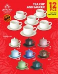 Tea Cup And Saucer 12 Pcs