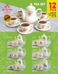 Tea set 12 Pcs