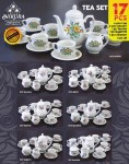 Tea Set 17 Pcs